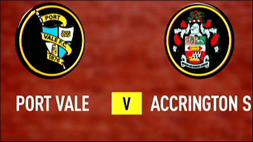 Port Vale v Accrington