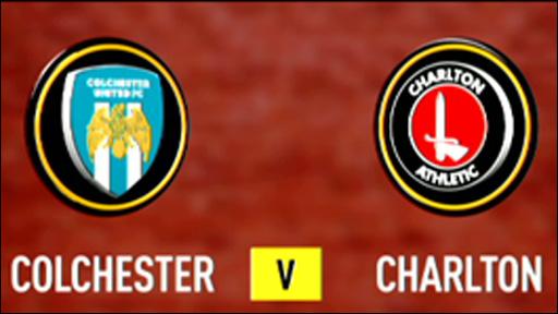 Colchester 3-0 Charlton