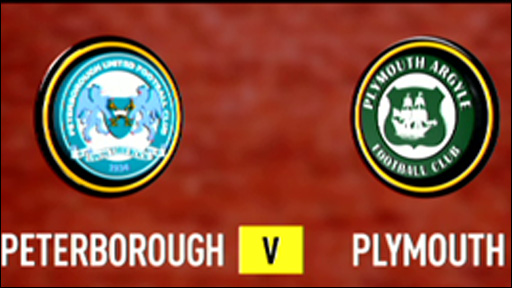 Peterborough 1-2 Plymouth