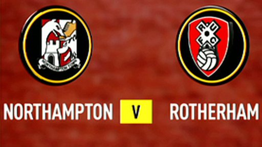 Highlights - Northampton 3-1 Rotherham