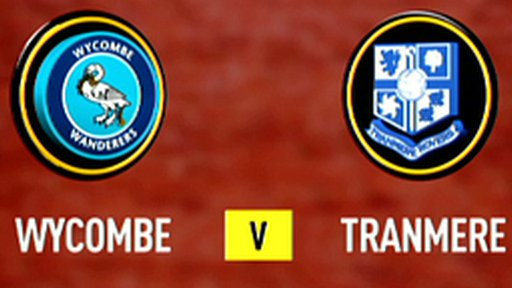 Highlights - Wycombe 0-1 Tranmere