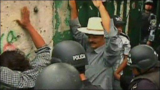 Honduras raid