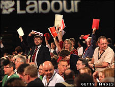 Labour delegates wanting to address conference this week