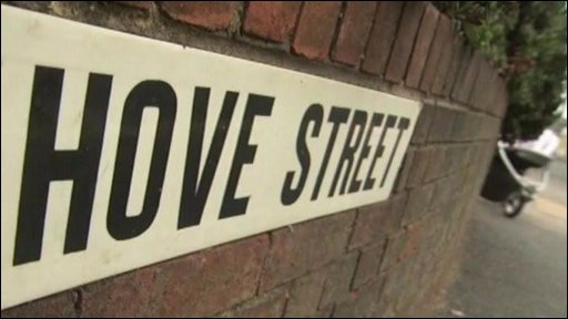 Hove Street sign