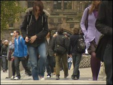 students in Glasgow