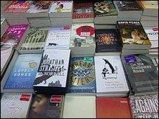 Books in shop