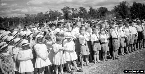 Children from the Fairbridge Farm Scool at Pinjarra, western Australia