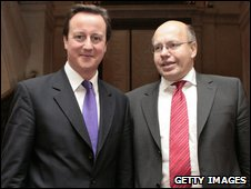 David Cameron (left) and Peter Altmaier