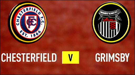 Chesterfield v Grimsby