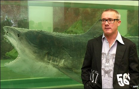 Damien Hirst, with his 2007 installation Death Explained