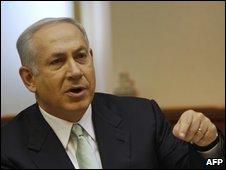 Benjamin Netanyahu in cabinet