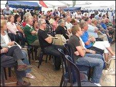 Visitors to the Aldeburgh Food & Drink Festival 2009