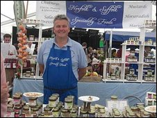 Stallholder at the Aldeburgh Food & Drink Festival