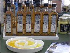 Hillfarm rapeseed oil bottles