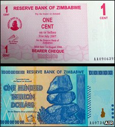 Zimbabwean notes (Annals of Improbable Research)