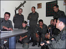 Anti-narcotics police, Colombia, 1 October 2009