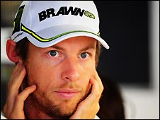 Brawn's Jenson Button can win the drivers' championship in Japan