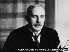 Ernest Rutherford (c) Alexander Turnbull Library, NZ