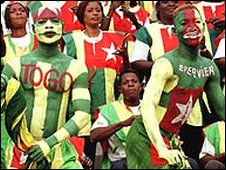 Togolese football fans