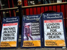 Evening Standard billboards
