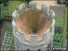 Ely Cathedral octagonal tower