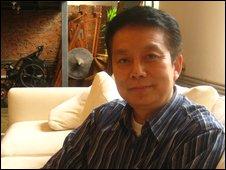 Huang Jiangxin, co-director of The Founding of a Republic