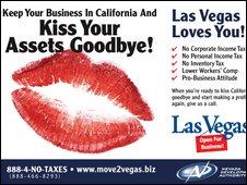 Las Vegas advert