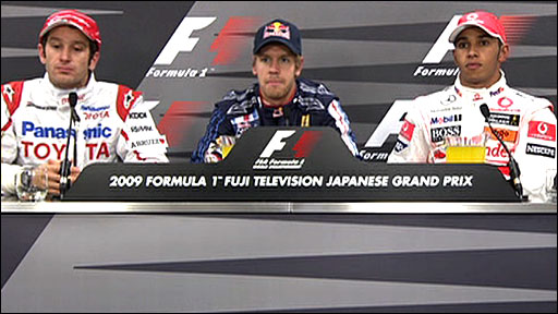 Japanese qualifying top three
