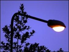 Generic image of a street light