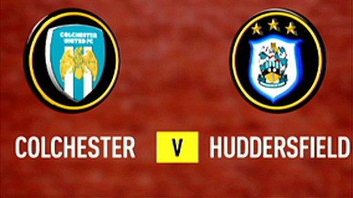 Colchester 1-0 Huddersfield