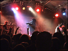 Skindred on stage