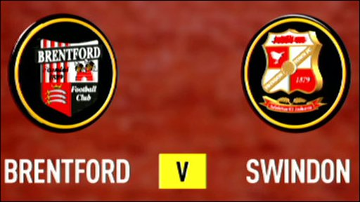 Brentford v Swindon