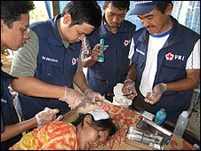 Red Cross clinic