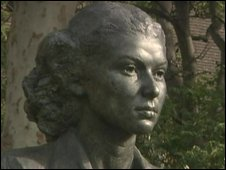 Bust of Violette Szabo