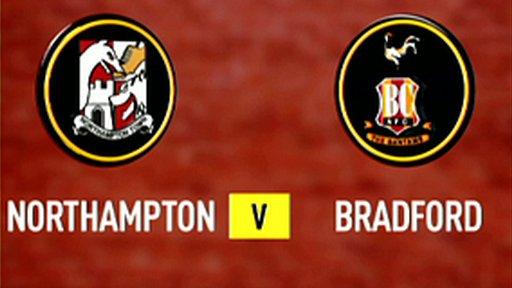 Northampton 2-2 Bradford