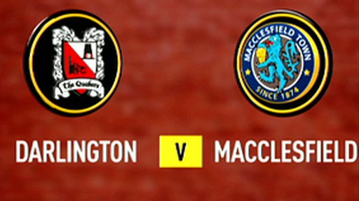 Darlington 0-1 Macclesfield