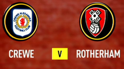 Crewe 2-3 Rotherham