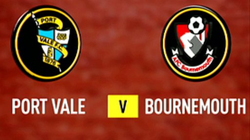 Port Vale 0-0 Bournemouth