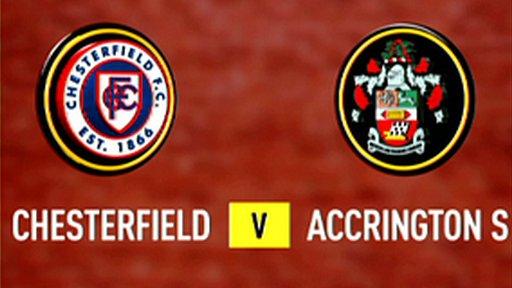 Chesterfield 1-0 Accrington Stanley