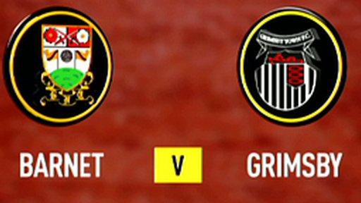 Barnet 3-0 Grimsby