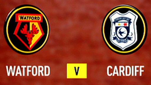 Watford 0-4 Cardiff