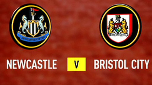 Newcastle 0-0 Bristol City
