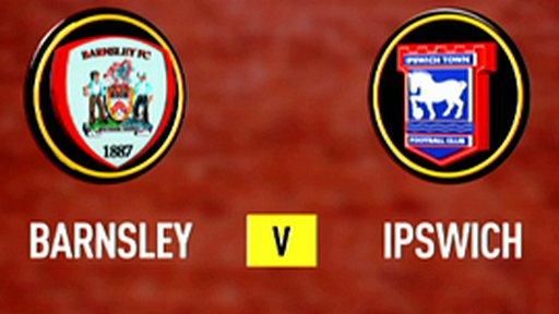 Barnsley 2-1 Ipswich