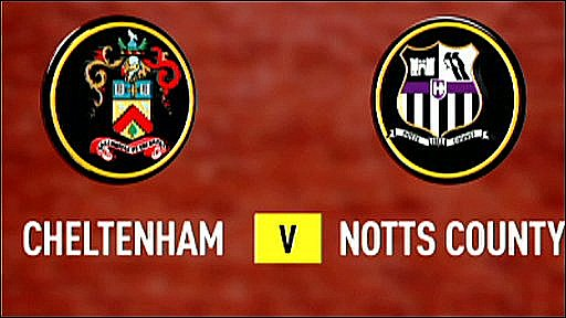 Cheltenham 1-1 Notts County