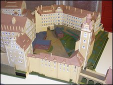 Model of Colditz Castle