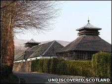 Glenturret Distillery. Pic by Undiscovered Scotland