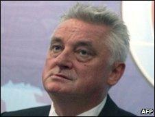 Miroslaw Drzewiecki, file pic