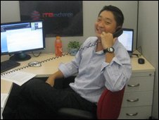 Michael Chuang, founder and chief executive of ITB Exchange, an electronic fixed-income brokerage