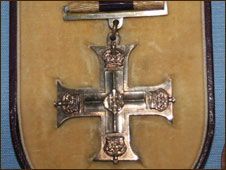 Siegfried Sassoon's Military Cross on show at the regimental museum