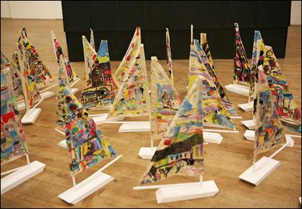Matholwch's boats by Catrin Williams